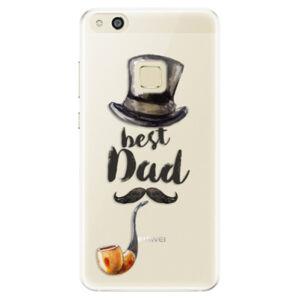 Silikónové puzdro iSaprio - Best Dad - Huawei P10 Lite