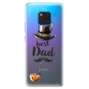Silikónové puzdro iSaprio - Best Dad - Huawei Mate 20 Pro