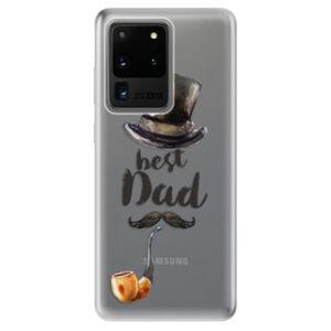Odolné silikónové puzdro iSaprio - Best Dad - Samsung Galaxy S20 Ultra