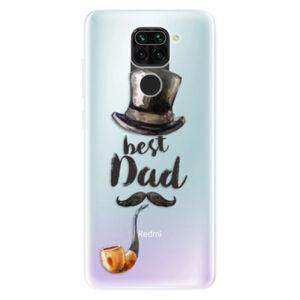 Odolné silikónové puzdro iSaprio - Best Dad - Xiaomi Redmi Note 9