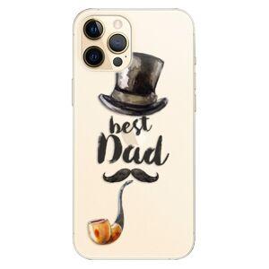Plastové puzdro iSaprio - Best Dad - iPhone 12 Pro Max