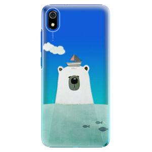 Plastové puzdro iSaprio - Bear With Boat - Xiaomi Redmi 7A