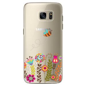 Plastové puzdro iSaprio - Bee 01 - Samsung Galaxy S7