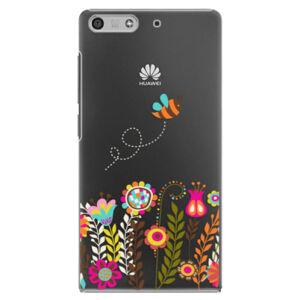 Plastové puzdro iSaprio - Bee 01 - Huawei Ascend P7 Mini