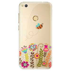 Plastové puzdro iSaprio - Bee 01 - Huawei Honor 8 Lite