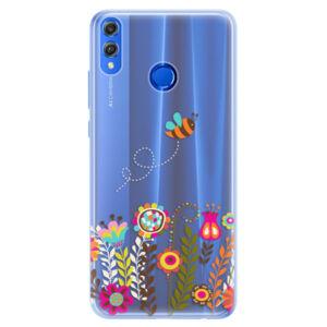 Silikónové puzdro iSaprio - Bee 01 - Huawei Honor 8X