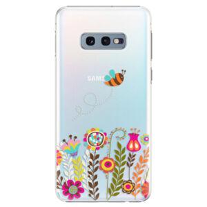 Plastové puzdro iSaprio - Bee 01 - Samsung Galaxy S10e