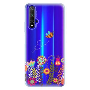 Odolné silikónové puzdro iSaprio - Bee 01 - Huawei Honor 20