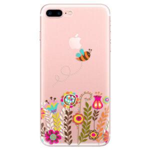 Odolné silikónové puzdro iSaprio - Bee 01 - iPhone 7 Plus