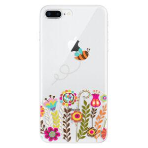 Odolné silikónové puzdro iSaprio - Bee 01 - iPhone 8 Plus