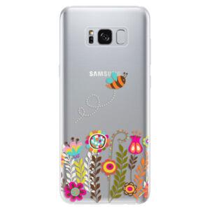 Odolné silikónové puzdro iSaprio - Bee 01 - Samsung Galaxy S8