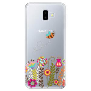 Odolné silikónové puzdro iSaprio - Bee 01 - Samsung Galaxy J6+
