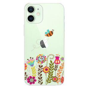 Plastové puzdro iSaprio - Bee 01 - iPhone 12 mini