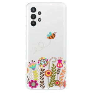 Odolné silikónové puzdro iSaprio - Bee 01 - Samsung Galaxy A32 5G