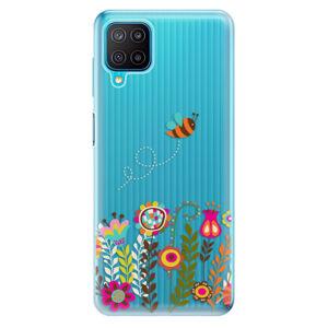 Odolné silikónové puzdro iSaprio - Bee 01 - Samsung Galaxy M12