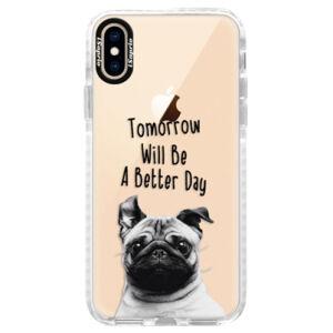 Silikónové púzdro Bumper iSaprio - Better Day 01 - iPhone XS