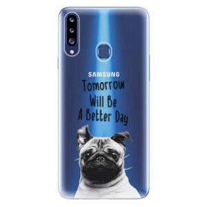 Odolné silikónové puzdro iSaprio - Better Day 01 - Samsung Galaxy A20s