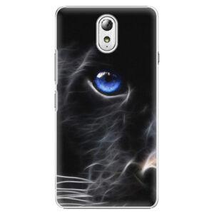 Plastové puzdro iSaprio - Black Puma - Lenovo P1m