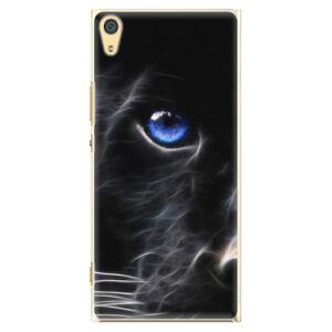 Plastové puzdro iSaprio - Black Puma - Sony Xperia XA1 Ultra