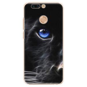 Plastové puzdro iSaprio - Black Puma - Huawei Honor 8 Pro