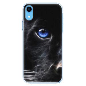 Plastové puzdro iSaprio - Black Puma - iPhone XR