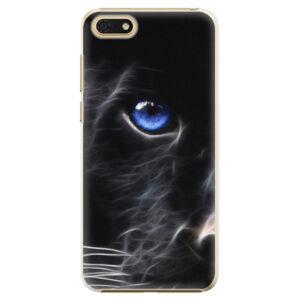 Plastové puzdro iSaprio - Black Puma - Huawei Honor 7S