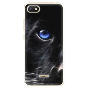 Plastové puzdro iSaprio - Black Puma - Xiaomi Redmi 6A