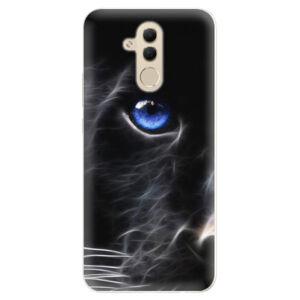 Silikónové puzdro iSaprio - Black Puma - Huawei Mate 20 Lite