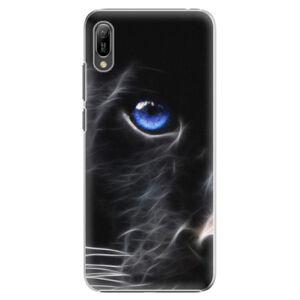 Plastové puzdro iSaprio - Black Puma - Huawei Y6 2019