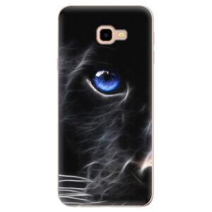 Odolné silikónové puzdro iSaprio - Black Puma - Samsung Galaxy J4+