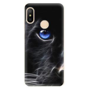 Odolné silikónové puzdro iSaprio - Black Puma - Xiaomi Mi A2 Lite