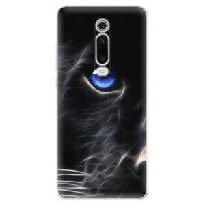Odolné silikónové puzdro iSaprio - Black Puma - Xiaomi Mi 9T Pro