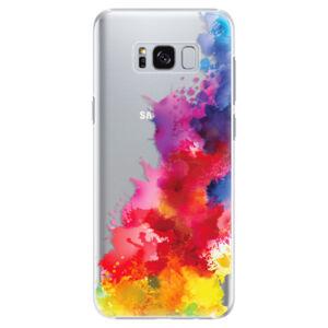 Plastové puzdro iSaprio - Color Splash 01 - Samsung Galaxy S8 Plus