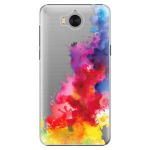 Plastové puzdro iSaprio - Color Splash 01 - Huawei Y5 2017 / Y6 2017