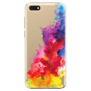 Plastové puzdro iSaprio - Color Splash 01 - Huawei Honor 7S