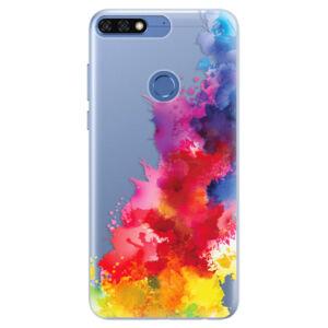 Silikónové puzdro iSaprio - Color Splash 01 - Huawei Honor 7C