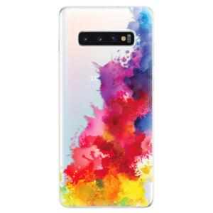Odolné silikonové pouzdro iSaprio - Color Splash 01 - Samsung Galaxy S10+