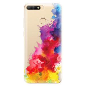Odolné silikónové puzdro iSaprio - Color Splash 01 - Huawei Y6 Prime 2018