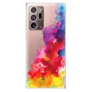 Odolné silikónové puzdro iSaprio - Color Splash 01 - Samsung Galaxy Note 20 Ultra