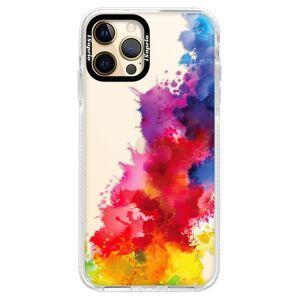 Silikónové puzdro Bumper iSaprio - Color Splash 01 - iPhone 12 Pro Max