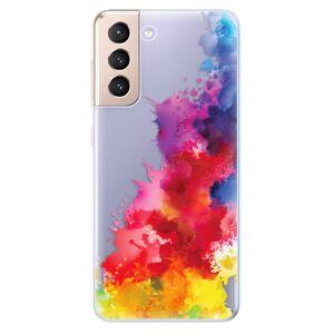 Odolné silikónové puzdro iSaprio - Color Splash 01 - Samsung Galaxy S21