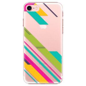 Plastové puzdro iSaprio - Color Stripes 03 - iPhone 7