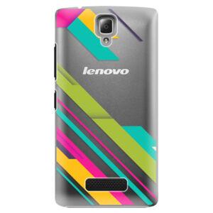 Plastové puzdro iSaprio - Color Stripes 03 - Lenovo A2010