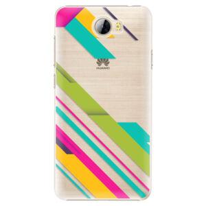 Plastové puzdro iSaprio - Color Stripes 03 - Huawei Y5 II / Y6 II Compact
