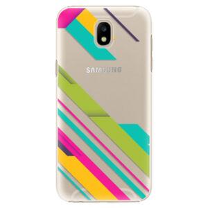Plastové puzdro iSaprio - Color Stripes 03 - Samsung Galaxy J5 2017