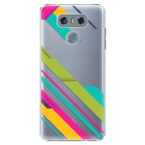 Plastové puzdro iSaprio - Color Stripes 03 - LG G6 (H870)