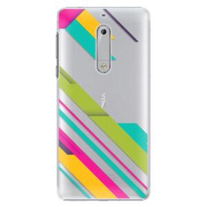 Plastové puzdro iSaprio - Color Stripes 03 - Nokia 5