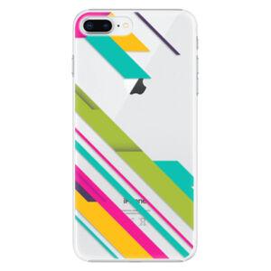 Plastové puzdro iSaprio - Color Stripes 03 - iPhone 8 Plus