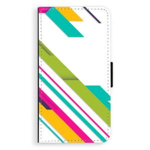 Flipové puzdro iSaprio - Color Stripes 03 - Huawei P10 Plus