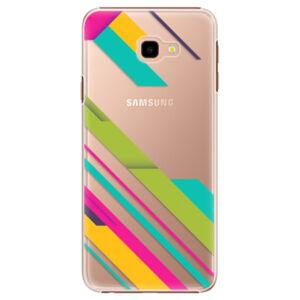 Plastové puzdro iSaprio - Color Stripes 03 - Samsung Galaxy J4+